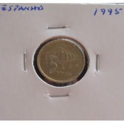 Espanha - 5 Pesetas - 1995