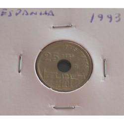 Espanha - 25 Pesetas - 1993