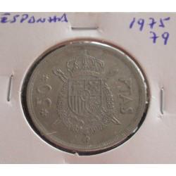 Espanha - 50 Pesetas - 1975-79