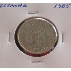 Espanha - 100 Pesetas - 1985