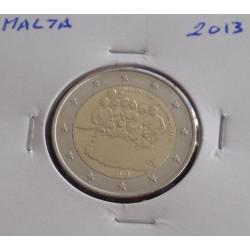 Malta - 2 Euro - 2013 -...