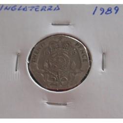 Inglaterra - 20 Pence - 1989