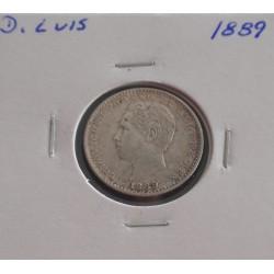 D. Luis - 100 Réis - 1889 -...