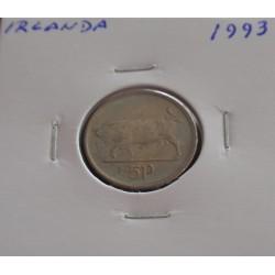 Irlanda - 5 Pence - 1993