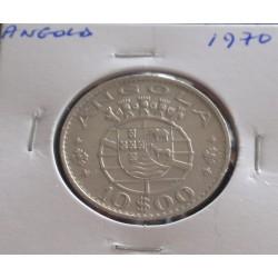 Angola - 10 Escudos - 1970
