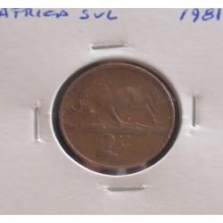 África do Sul - 2 Cents - 1981