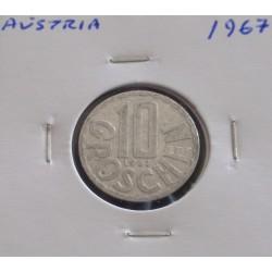 Aústria - 10 Groschen - 1967