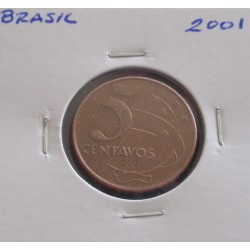 Brasil - 5 Centavos - 2001