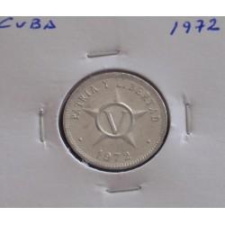 Cuba - V Centavos - 1972