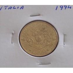 Itália - 200 Lire - 1994