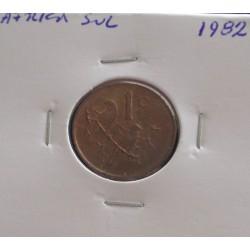 África do Sul - 1 Cent - 1982