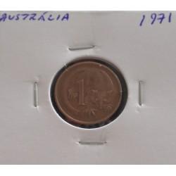 Austrália - 1 Cent - 1971