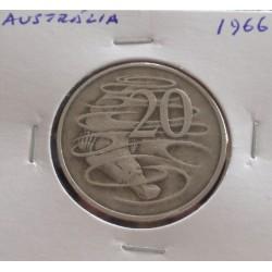 Austrália - 20 Cents - 1966