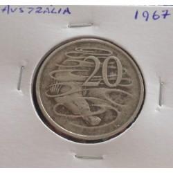 Austrália - 20 Cents - 1967