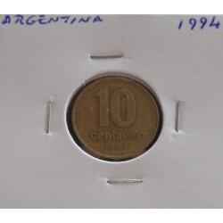 Argentina - 10 Centavos - 1994
