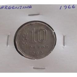 Argentina - 10 Pesos - 1966