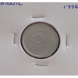 Brasil - 5 Centavos - 1996