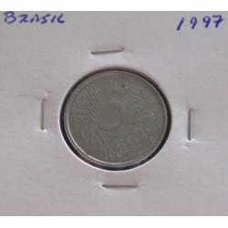 Brasil - 5 Centavos - 1997