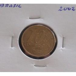 Brasil - 10 Centavos - 2002