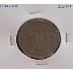 Chile - 50 Pesos - 2001