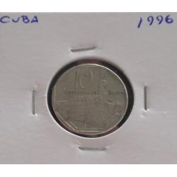 Cuba - 10 Centavos - 1996