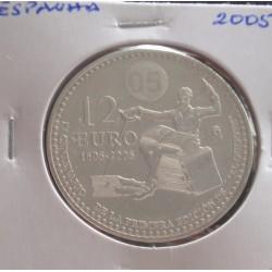 Espanha - 12 Euro - 2005 -...