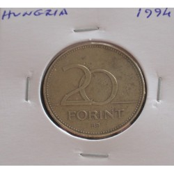 Hungria - 20 Forint - 1994