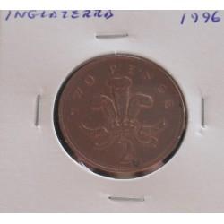 Inglaterra - 2 Pence - 1996
