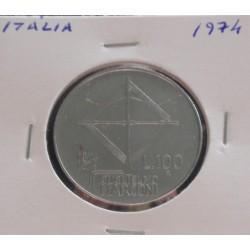 Itália - 100 Lire - 1974 -...