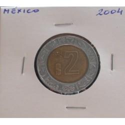México - 2 Pesos - 2004