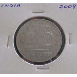India - 2 Rupees - 2009