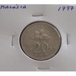 Malásia - 20 Sen - 1997