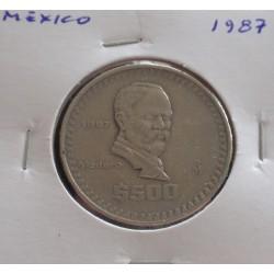 México - 500 Pesos - 1987