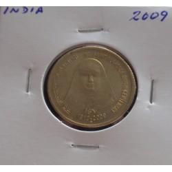 India - 5 Rupees - 2009