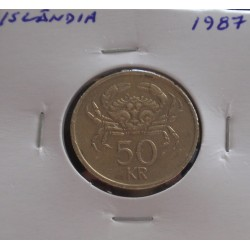 Islândia - 50 Kronur - 1987