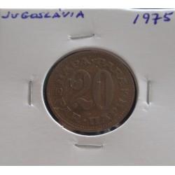 Jugoslávia - 20 Para - 1975