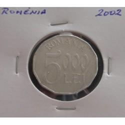 Roménia - 5000 Lei - 2002