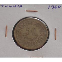 Tunísia - 50 Millim - 1960