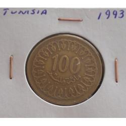 Tunísia - 100 Millim - 1993