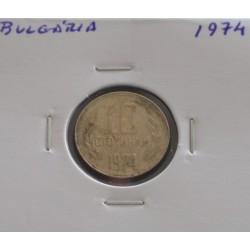 Bulgária - 10 Stotinki - 1974