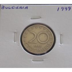 Bulgária - 20 Stotink - 1999