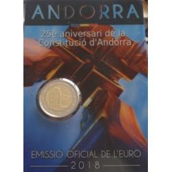 Andorra - 2 Euro - 2018 -...