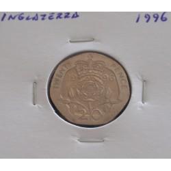 Inglaterra - 20 Pence - 1996