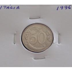 Itália - 50 Lire - 1996