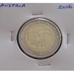 Aústria - 2 Euro - 2016 -...