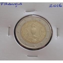 França - 2 Euro - 2016 - UEFA