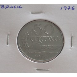 Brasil - 50 Centavos - 1976