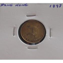 Hong - Kong - 10 Cents - 1997
