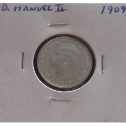D. Manuel II - 100 Réis -...