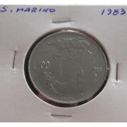 San Marino - 100 Lire - 1983